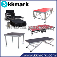 Aluminum Portable Stages/wedding stage/Mobile Stages for sale