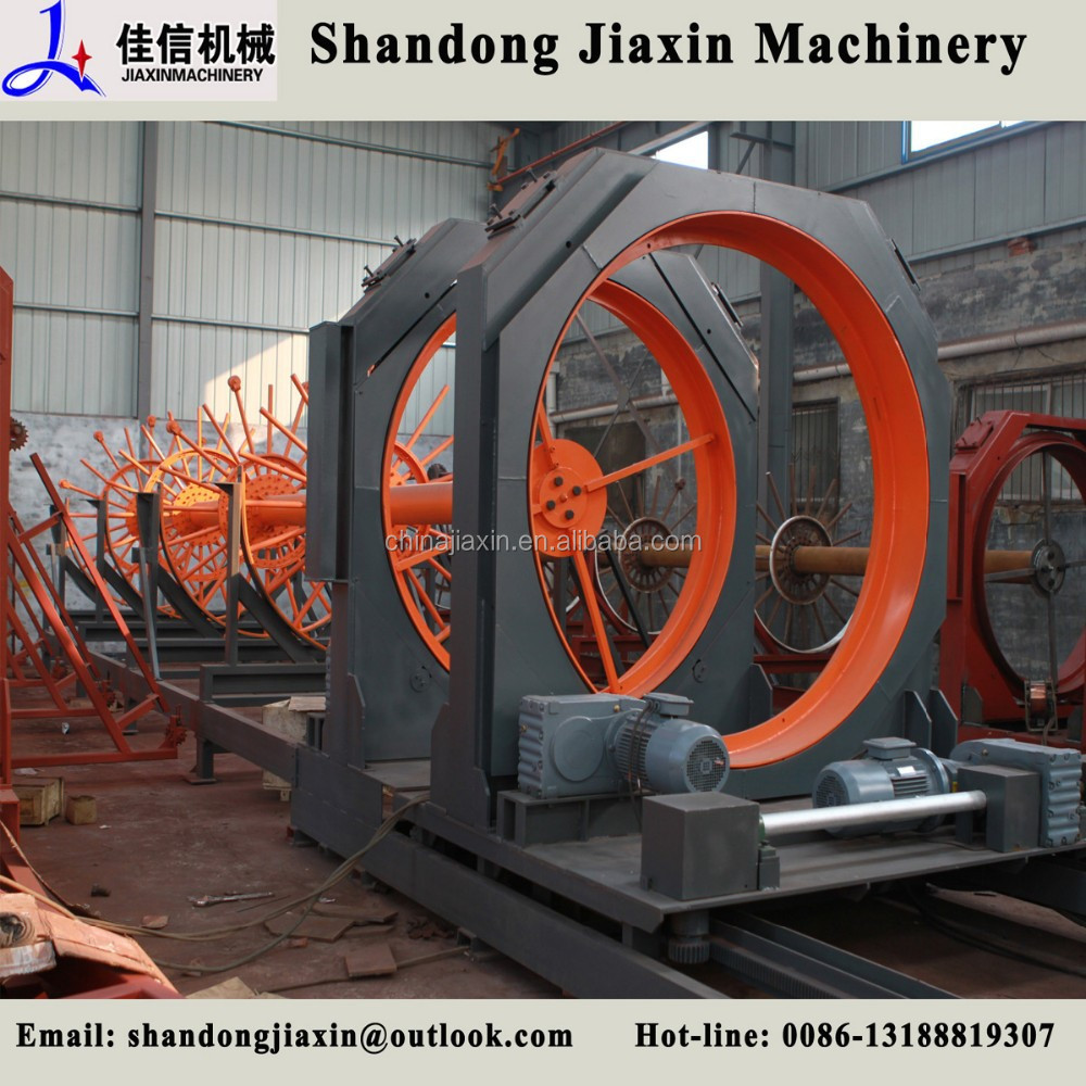 Cast-in-situ bored pile steel bar cage welding machine, steel cage making machine
