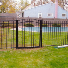 Metal Frame Material cheap Used wrought iron fence panels for sale