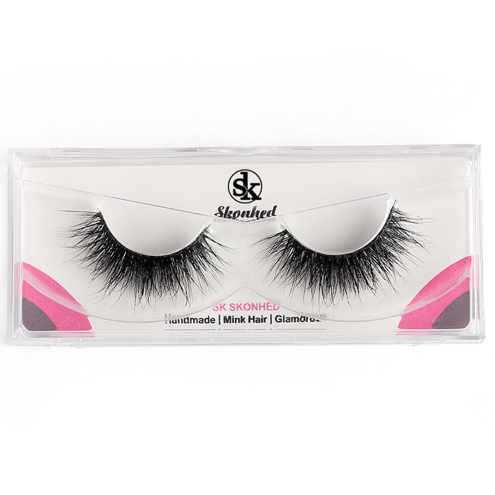 1 pair hot sale handmade mink hair false eyelashes fluffy wispy rh aliexpress com