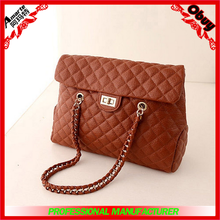 2015 new product branded high leather hand bags for women shoulder bag china manufacturer
