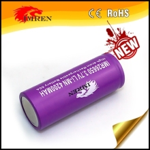 imren 26650 60a 26650 4200 High quality!! IMREN 26650 4200mah 60a rechargeable 3.7V battery for 26650 Brick House BOX mod