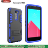 3 in 1 pc tpu protective shockproof hard phone cover case for LG K7 M1