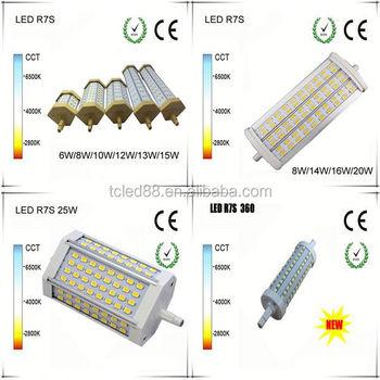 6w 78mm 2835smd 180 degree led r7s 118mm 20w buy 180 for Led r7s 78mm 20w