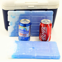 BPA Free 25*15*1.8cm refrigerated wine box cooler ice pack for ice bag in box wine cooler