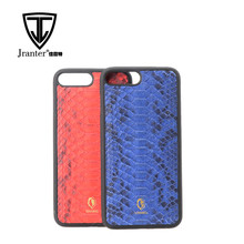 Luxury Python Snake Skin Case Wholesale Leather Smart Phone Case