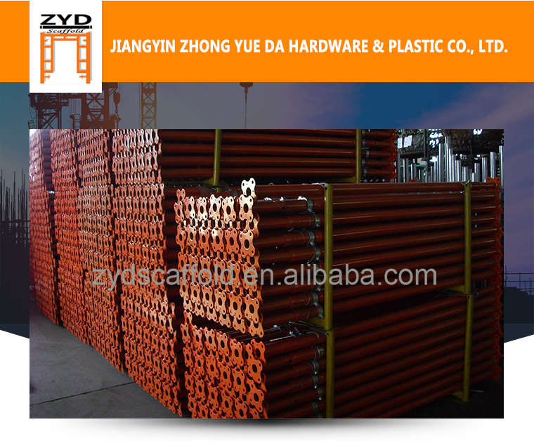 Hot-dip Galvanized Steel Shoring Post