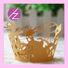 2016 cake decor suppy paper crown cupcake decor made in China DG51
