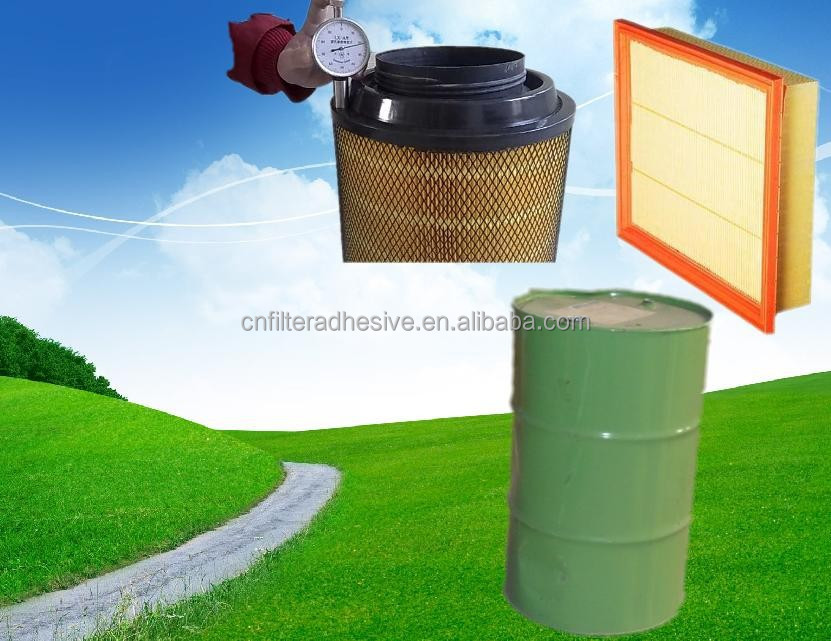 Air filter raw material PU adhesive