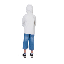Durable water repellent kid poncho rain coat