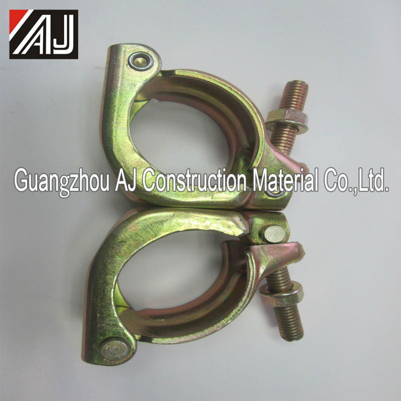 Meet EN74 standard steel tube coupler scaffolds
