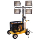 Construction Towable Mobile Hybrid Lighting Tower