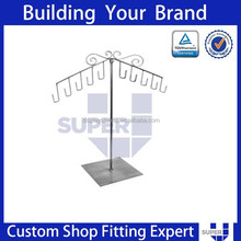 metal stand bags counter hanging display rack