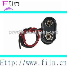 Free sample 9V battery connector clip 9v battery snap
