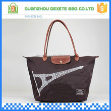 Fashionable and good quality ladies tote big handbag