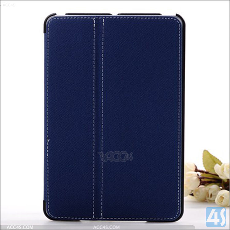 Best cheap price Folio leather tablet case For Apple iPad Mini 2/3 with stylus pen holder