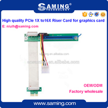 PCI-e 1x to 16x riser card Extender cable/expansion card for graphics card
