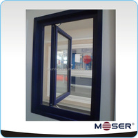 outward opening aluminum side hung window