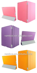 Smart Cover with Back Protective Front Leather Smart Cover Case for iPad Air