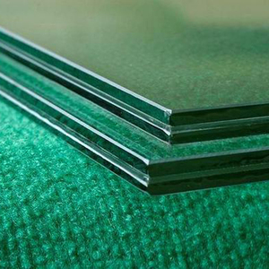 China high quality 6mm 8mm 10mm 12mm safety building laminated tempered glass sheet price