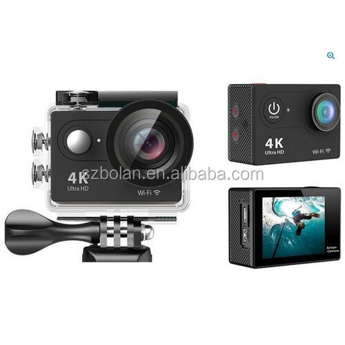 "2"" LCD Screen Full HD 1080p 4K Wifi Sports Action Camera DV Mini Video Camcorder Waterproof Sport Camera with Remote Controller"