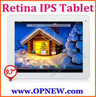 9.7inch Android4.4 Retina IPS Tablet pc 2048*1536 Quadcore RK3188 4G RAM Bluetooth Wifi Tablet