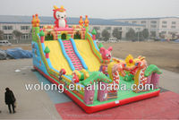 Best price giant inflatable slide and fun city