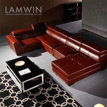 Furniture u shaped sectional sofa european modern style sofa set in foshan
