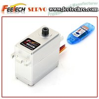 Feetech RC 21.3kg HV Metal Case Digital Servo Fi8622M for RC Gas Airplane