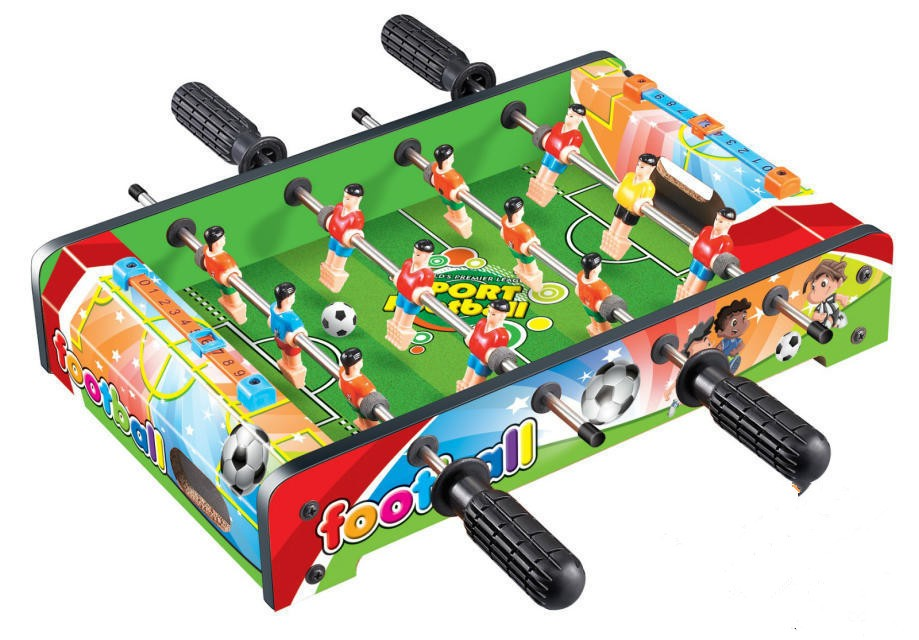 Top Quality Wooden Soccer Game Table Indoor Outdoor Mdf Foosball