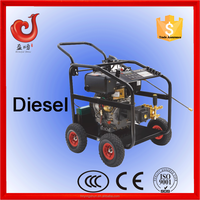 250bar/3600psi 186FE diesel water pressure drain cleaner, motor driving high pressure washer