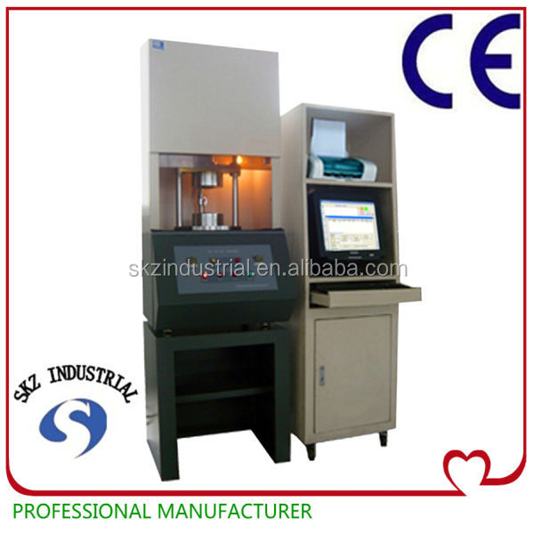 Computer controlled rubber mooney viscosity test equipment