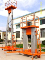 hydraulic double mast aluminum alloy personal lift/small elevators for homes