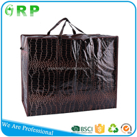 Low cost easy carry pp woven bag for shopping