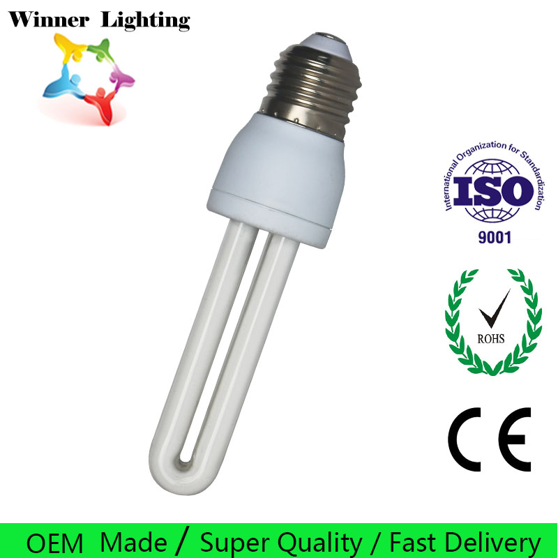 CFL Principle and U Shape T3 Energy Saving Lamp Cheap Price E14 Lighting Bulbs