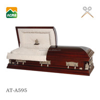 trade assurance supplier reasonable price casket funeral furniture