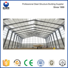 Prefab Aircraft Hangar Manufacture with Space Metal Roofing Steel Structure