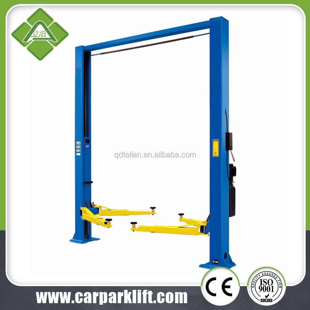 Dannmar 2Post Low Ceiling Wide Floorplate Lift  9000Lb