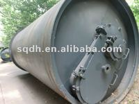used tyre/rubber pyrolysis device with CE /ISO and high efficiency