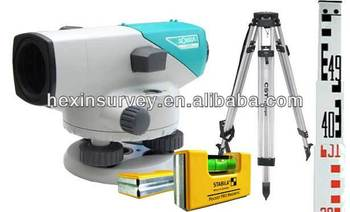 Sokkia B40 auto leveling system with tripod and staff
