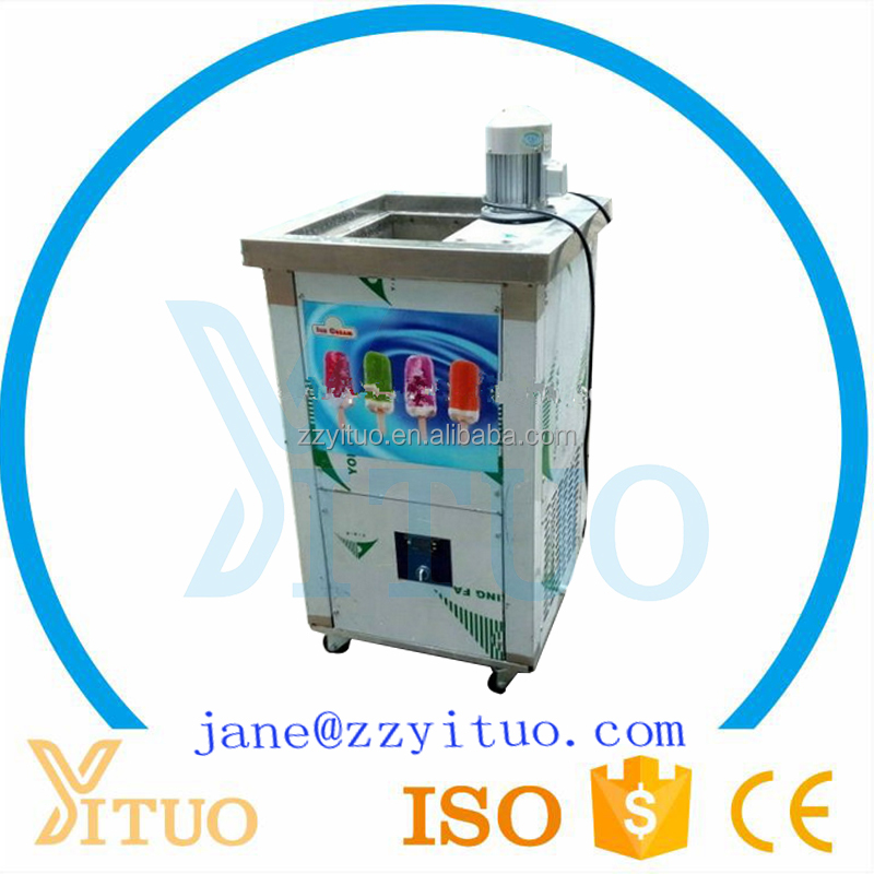 Hot Selling Ice Lolly Making Machine, Popsicle Making Equipment / Automatic Ice Popsicle Machine For Sale