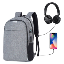 wholesale cost-effective fashion smell proof business school laptop <strong>bag</strong> anti theft USB charging computer laptop backpack
