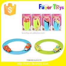 Wholesale new design plastic wind up toy railway motor.
