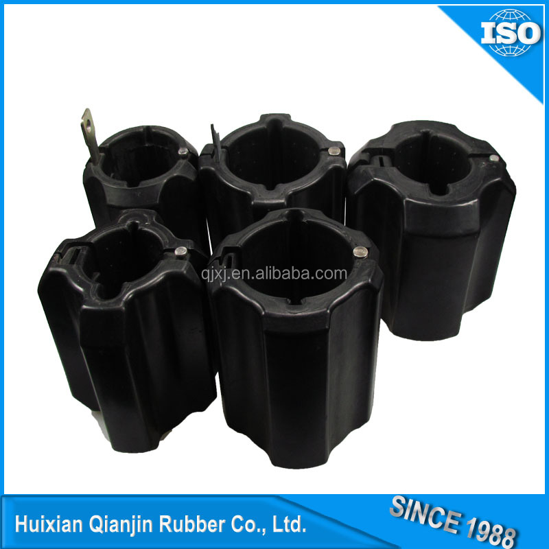 Drill pipe protectors with a manual installation/removal tool
