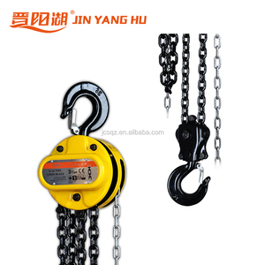 China supplier 2 ton chain pulley block manual block with double load chain