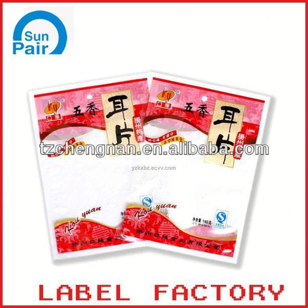 photo print plastic bags
