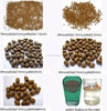 Tilapia mossambica Floating feed pellet machine for sale with best prices