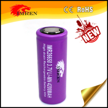 Hot sale 26650 battery holder for imren 26650 4200mAh 60A 3.7V litium battery