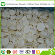 Wholesale IQF frozen peeled sliced new crop water chestnuts