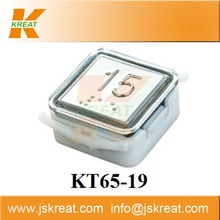 Elevator Spare Parts|Electric System|KT65-19 push button|elevator call buttons